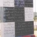 Tull memorial wall, Northampton Town FC