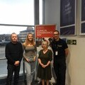 Image of Ashleigh Pittams with David and Patricia Heaster and Laurie Phillipson of EHAAT
