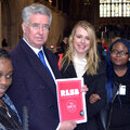 Members of the RLSB Youth Forum with Rt Hon Michael Fallon MP, who has endorsed their manifesto.