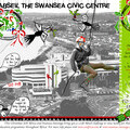 Swansea Civic Centre Christmas Charity Abseil
