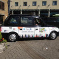 National Stationery Week Taxi Livery from London Taxi Advertising