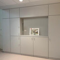 Example of patient room furniture at UCLH