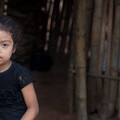 picture of child in times of corona Guatamala