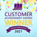 Infographic for the TSG Customer Achievement Award winner