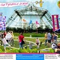 Glastonbury Festival Pyramid Stage Abseil Poster