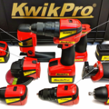 KwikPro is a whole set of power tools in one convenient case
