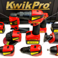 KwikPro is a whole set of power tools in one easy-to-transport case