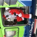 Santa and the GWAAC helicopter