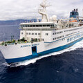 The Africa Mercy 'floating hospital' ship.