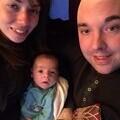 Family photo - Marie, Stuart and Bertie