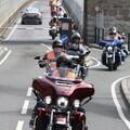 Bikers in safety gear