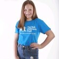 12 year old Charlotte is a finalist in the Royal Sapphire Pageant and has chosen to support The Sick Children