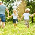 family in park - Dreamstime