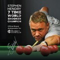 Stephen Hendry Global Brand Ambassador
