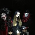 A coven of witches greeted participants at Scare Fest 2016