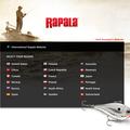 Rapala website homepage