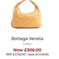 Bottega Veneta Hobo 84% off original price