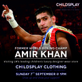 Amir Khan Comes To Childsplay Clothing