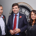 Brian White, Chairman of MedEquip4Kids, Andy Burnham, Mayor of Greater Manchester, Ghazala Baig, Chief Executive of MedEquip4Kids