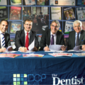 Dental Showcase contract signing