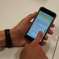 Tassomai quiz on mobile phone