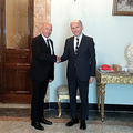 President of TRIEST NGO Stefano Ferluga and the Minister-Counselor of the Russian Embassy in Italy Dmitry Shtodin