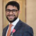 Saeed Atcha MBE DL portrait