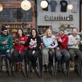 The team at Tynebank Brewery getting into the Christmas spirit!