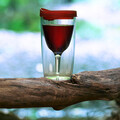 New and innovative portable wine cup makes drinking at Wimbledon, Ascot, festivals and picnics easier while looking fantastic