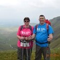 Keith and Karen Mawson raised £400 for The Sick Children's Trust in memory of Ewan
