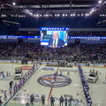 Beggining of the opening match of 2016/17 KHL season in Magnitogorsk