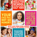 FREE SCHOOL MEALS POSTER