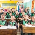 The  children supported by SOS Africa in the Western Cape