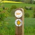 The Corvedale way-marker