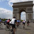 London to Paris Tour de France Cycle