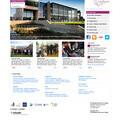 Blackpool Sixth web site built using Schudio