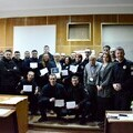 Kyiv Police upon completion of training with certificates