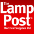 Lamp Post Electrical Logo