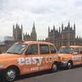 easyGroup taxis at Westminster