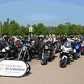 Bikers gathered at Hertfordshire Constabulary 2018