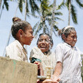 Belu - WaterAid image kids at tap Timor Leste
