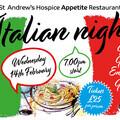 Italian Night for Valentine