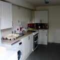 Kitchen in one of the new properties