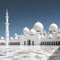Abu Dhabi: Sheikh Zayed Mosque (Wikimedia)