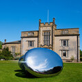 International artist, Qi Yafeng brings huge stainless-steel sculptures to Cheeseburn this Summer