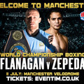 WBO Lightweight title fight ad from Media Agency Group
