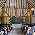 Our magnificent Tudor Barn provides the elegant location for your ceremony