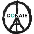 DONATE button with Paris CND image