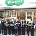 Specsavers Stirling Director Susanne Akil along with staff were on hand to showcase The Specsavers Cup with Games Chieftain Convenor Catriona Cripps