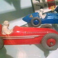 Early Dinky Toys racing car - Brighton Toy and Model Museum